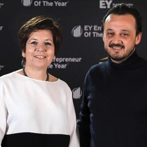 Aytul Ercil, Co-Founder & CEO and Ceyhun Burak Akgul, Co-Founder & CTO, Vispera