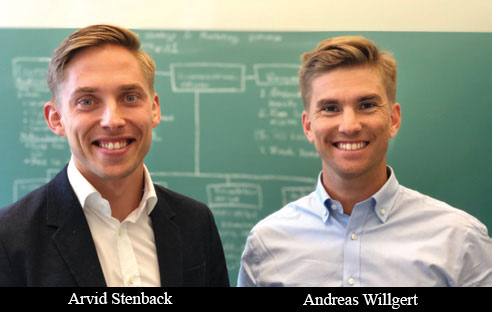 Arvid Stenback, Co-Founder & SVP Sales and Andreas Willgert, Co-Founder & CEO, Formulate