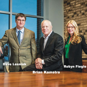 Dave Lesniak, CFO, Brian Kamstra, President, Robyn Fiegle, VP, Operations, Retriever Merchant Solutions