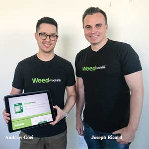 Andrew Goei, Co-founder and Joseph Ricard, Co-founder and CEO, SeedERP