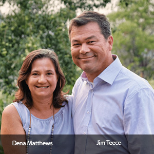 Dena Matthews, Treasurer and CFO and Jim Teece, President and CEO, Project A