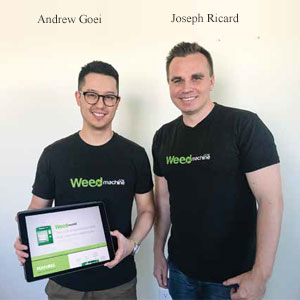 Andrew Goei, Co-Founder and Joseph Ricard, Co-Founder & CEO , SeedERP