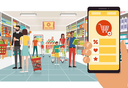 Has AI Ushered the Retail Online Transition?